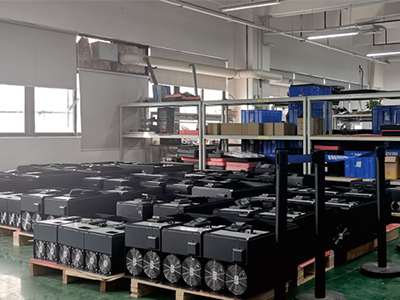 The high level of cleanliness during the whole production process is achieved.
